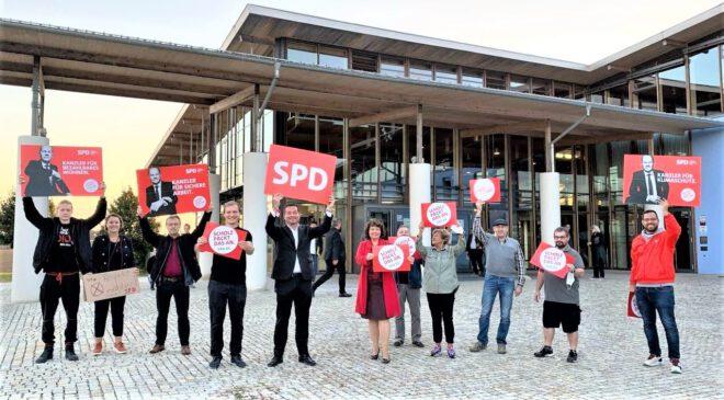 Einen höheren Mindestlohn gibt es nur mit der SPD