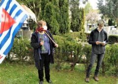 Gedenkveranstaltung der VVN-BdA am Achdorfer Friedhof