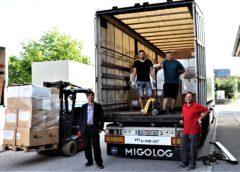Hilfsgüter für soziale Einrichtungen in Rumänien