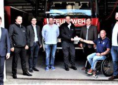 Landshuter Feuerwehr erhält 1.000 Euro Spende